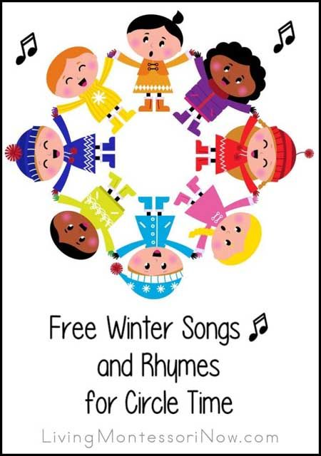 free winter songs and rhymes for circle time preschool. Black Bedroom Furniture Sets. Home Design Ideas