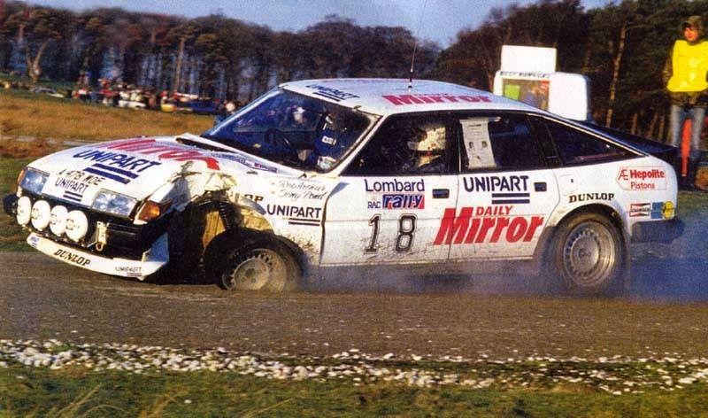 The late great, Tony Pond & Rob Arthur, Rover SD1  Knowsley Safari