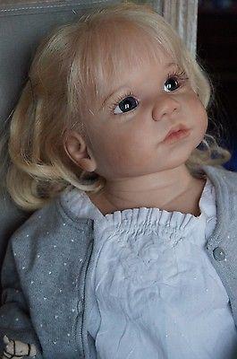 Reborn girl toddler Sofia , Gabriella Regina Swialkowski