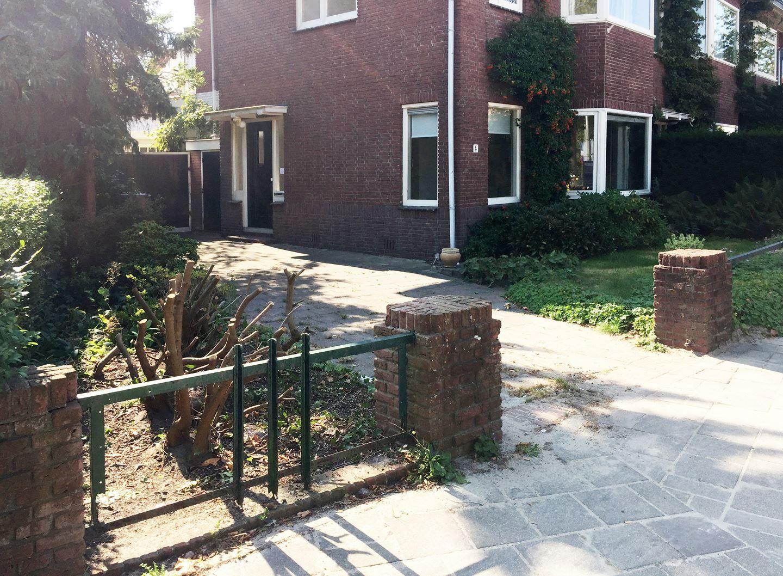 Hekjes Voor Tuin : Jaren woningen een jaren tuin met een duidelijke