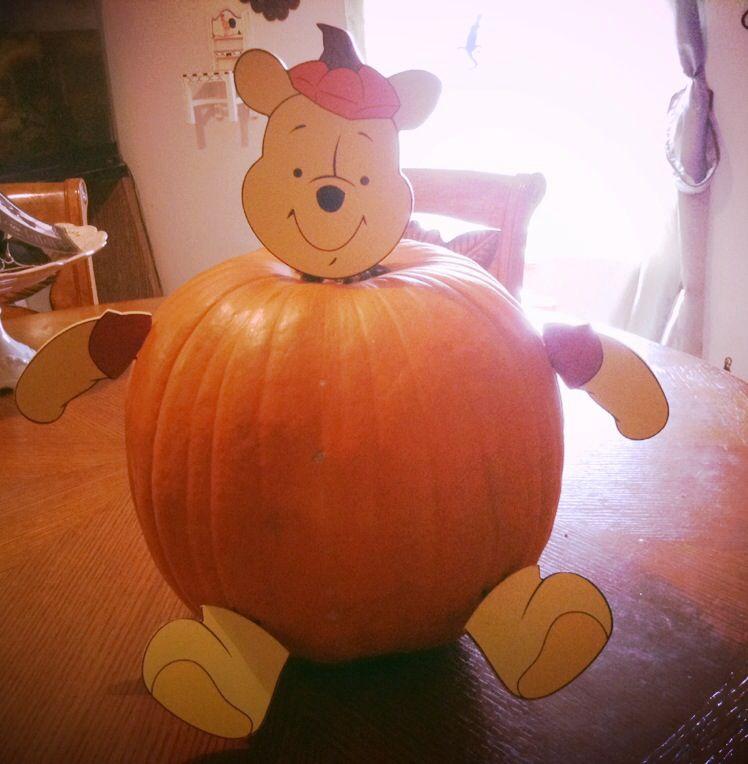 winnie the pooh pumpkin decorations
