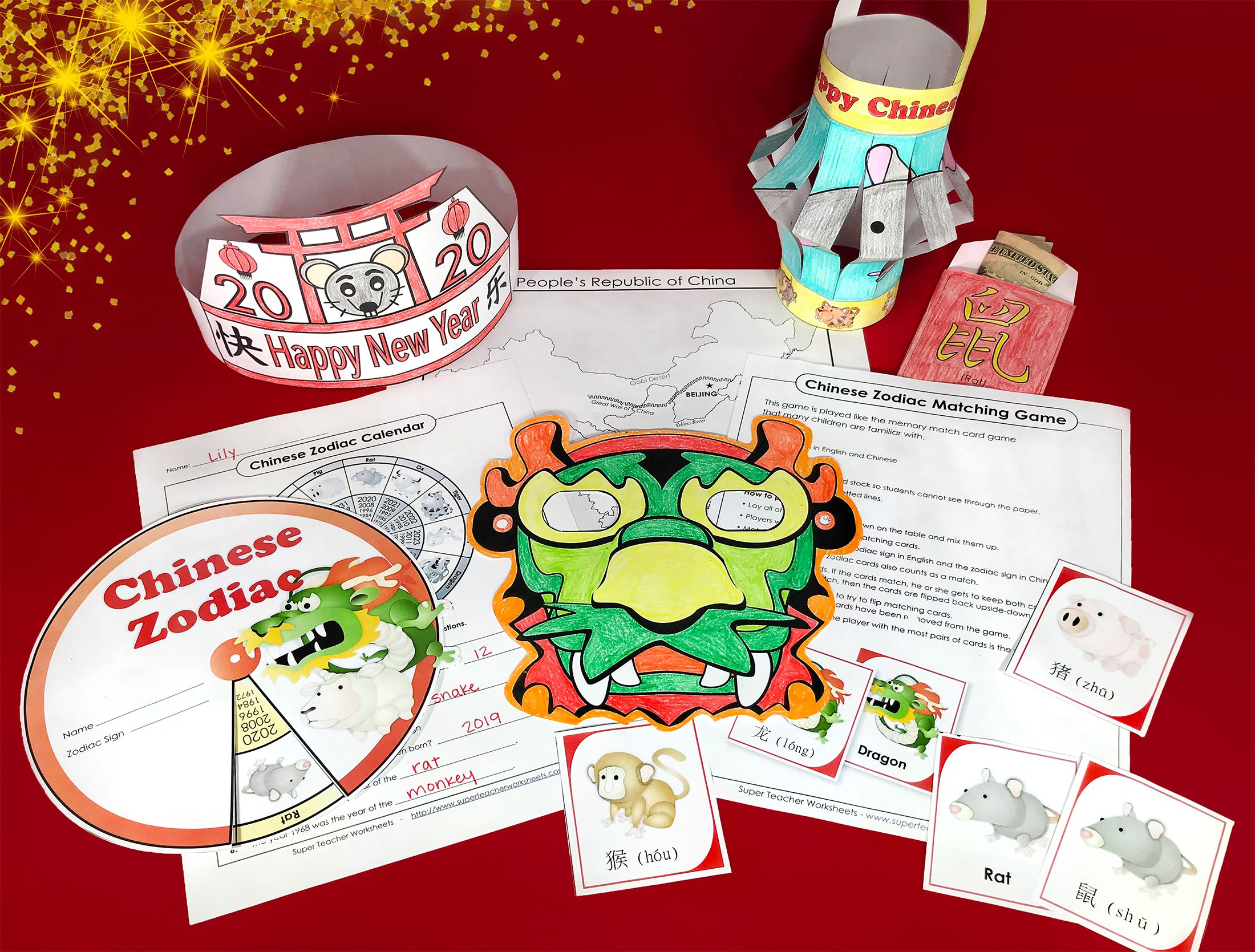 Celebrate The Yearoftherat With Our Printableresources