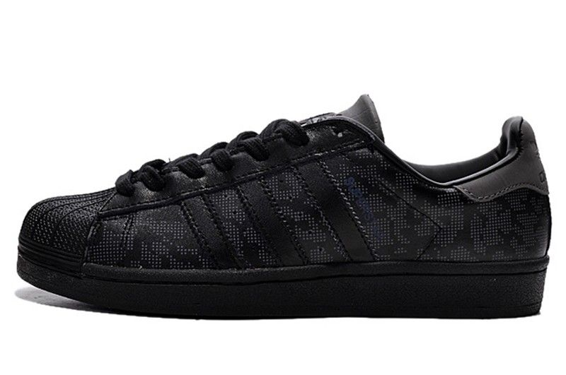 adidas superstar camouflage black