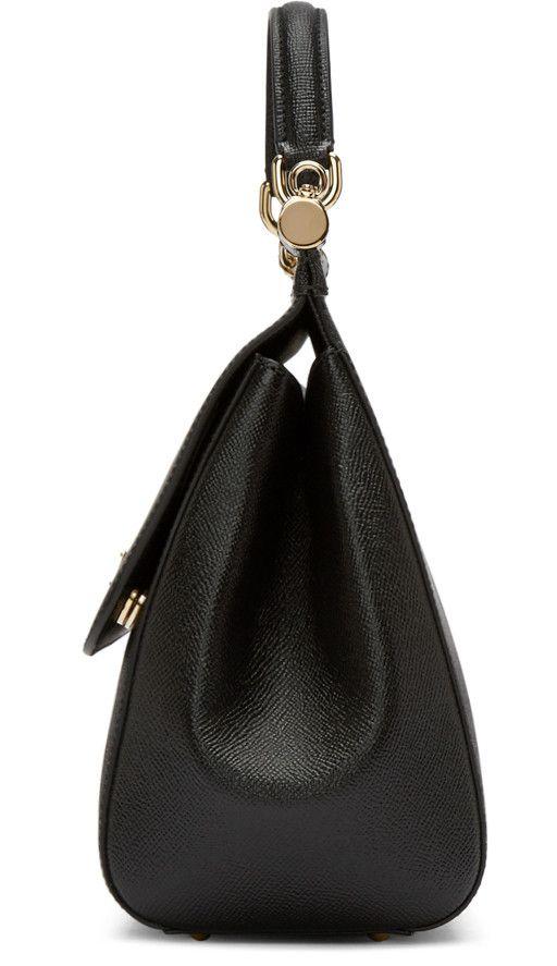 Dolce & Gabbana - Black Large Miss Sicily Bag
