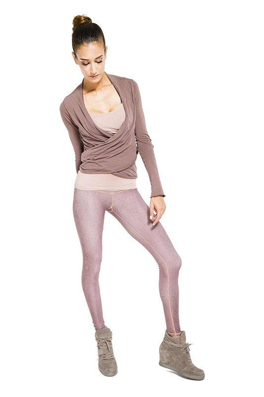 e5845f1f9a586 Niyama Sol Dusty Rose Diamondback Barefoot Legging Funky Leggings, Women's  Leggings, Hot Yoga,