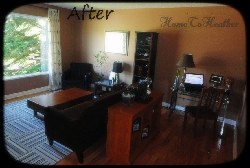 Family Room Office For The Home Pinterest