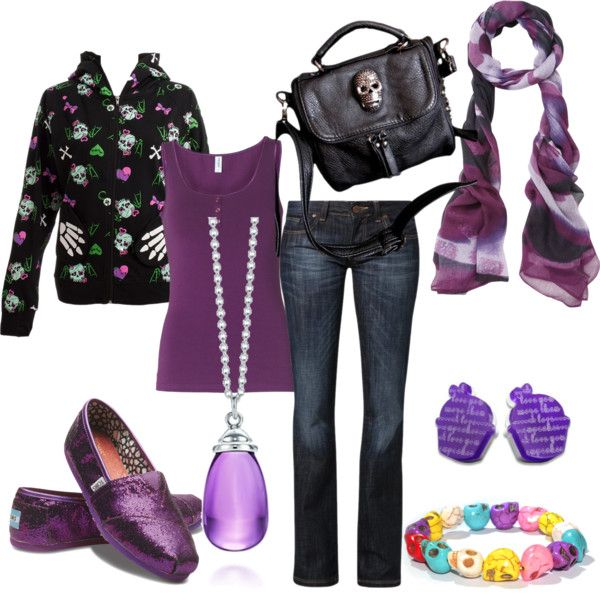 """""""Skulls for my Daughter"""" by vampwriter on Polyvore"""
