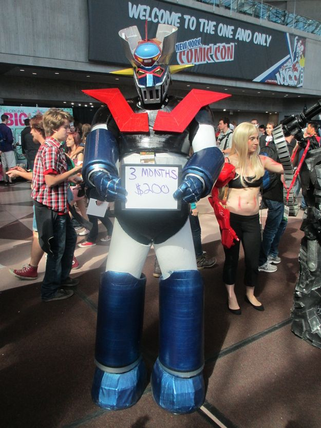 Mazinger Z - Mazinger Z | What Is The True Cost Of Cosplay?