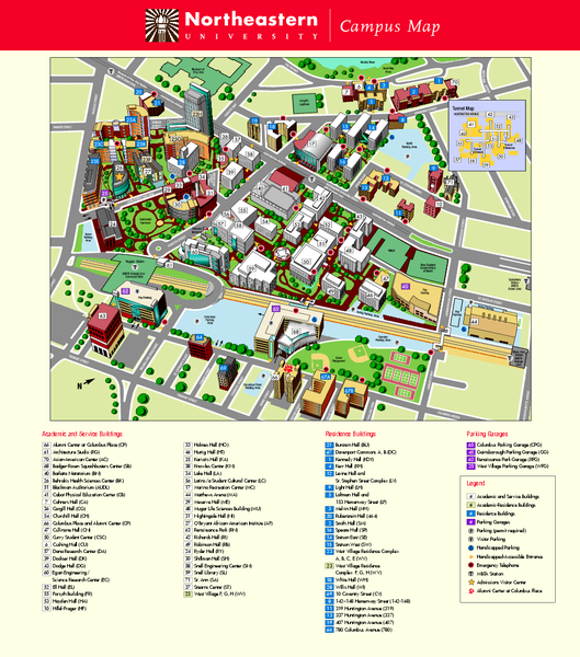 northeastern university map of campus Northeastern University In Boston College Road Trip University northeastern university map of campus