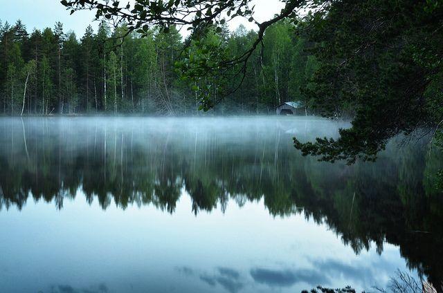 Summer night by Antti-Jussi Liikala, via Flickr