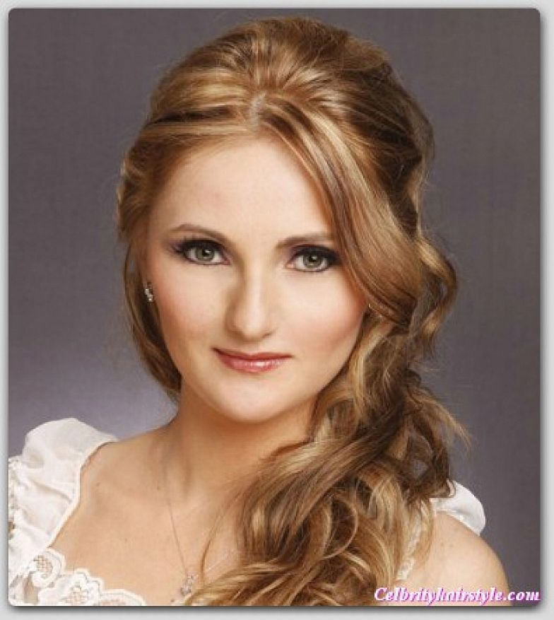 Super 1000 Images About Prom Hairstyles On Pinterest Half Up Medium Short Hairstyles Gunalazisus