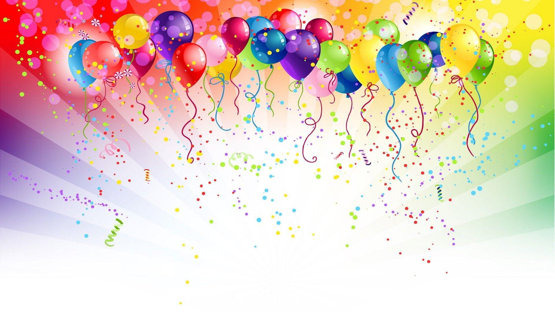 Happy Birthday Balloons Wallpaper Hd For Desktop Amp Mobile