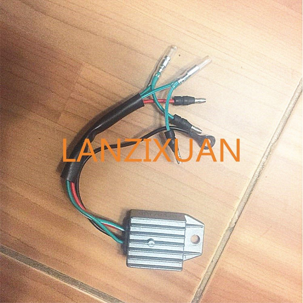 Boat Motor Rectifer Regulator Assy F15 07060001 For Parsun 4 Stroke F9 9 F13 5 F15 Outboard Engine Outboard Boat Vehicle Parts