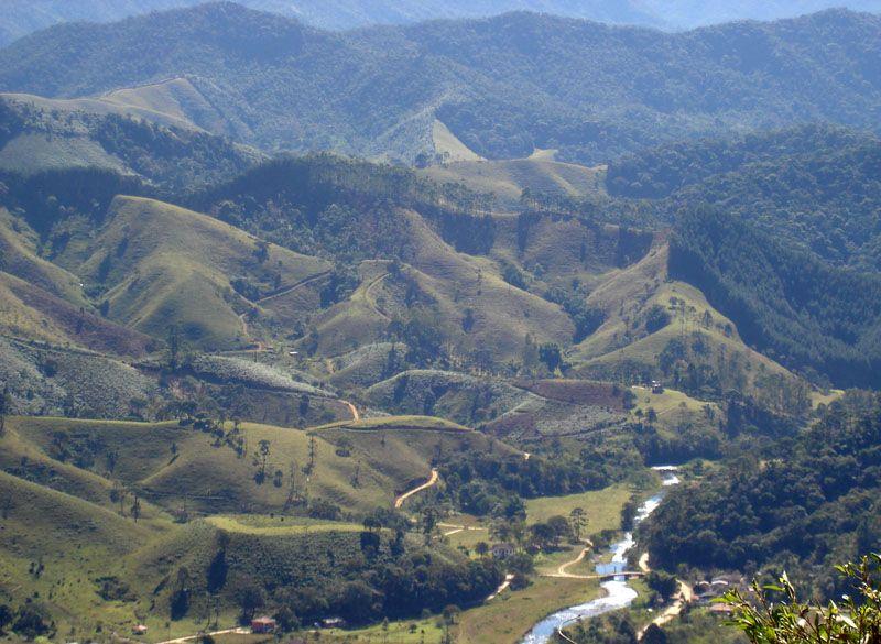 Mantiqueira Mountain Range Visconde De Maua Brazil Maua Is The