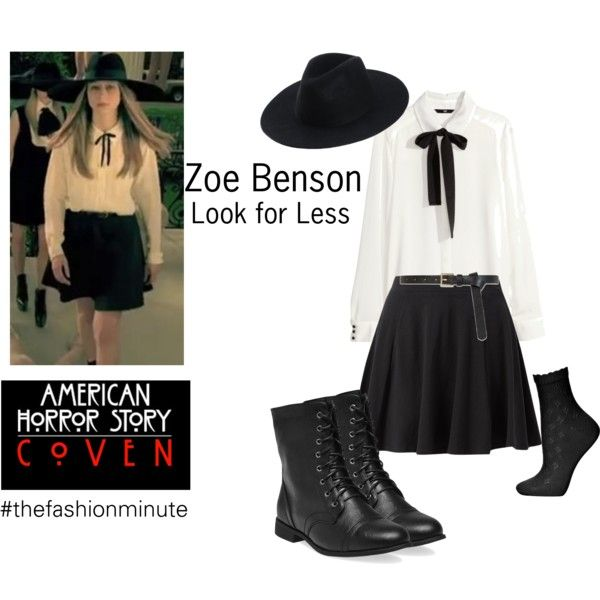 75deb9cae16 American Horror Story  Looks for Less. Zoe Benson s style
