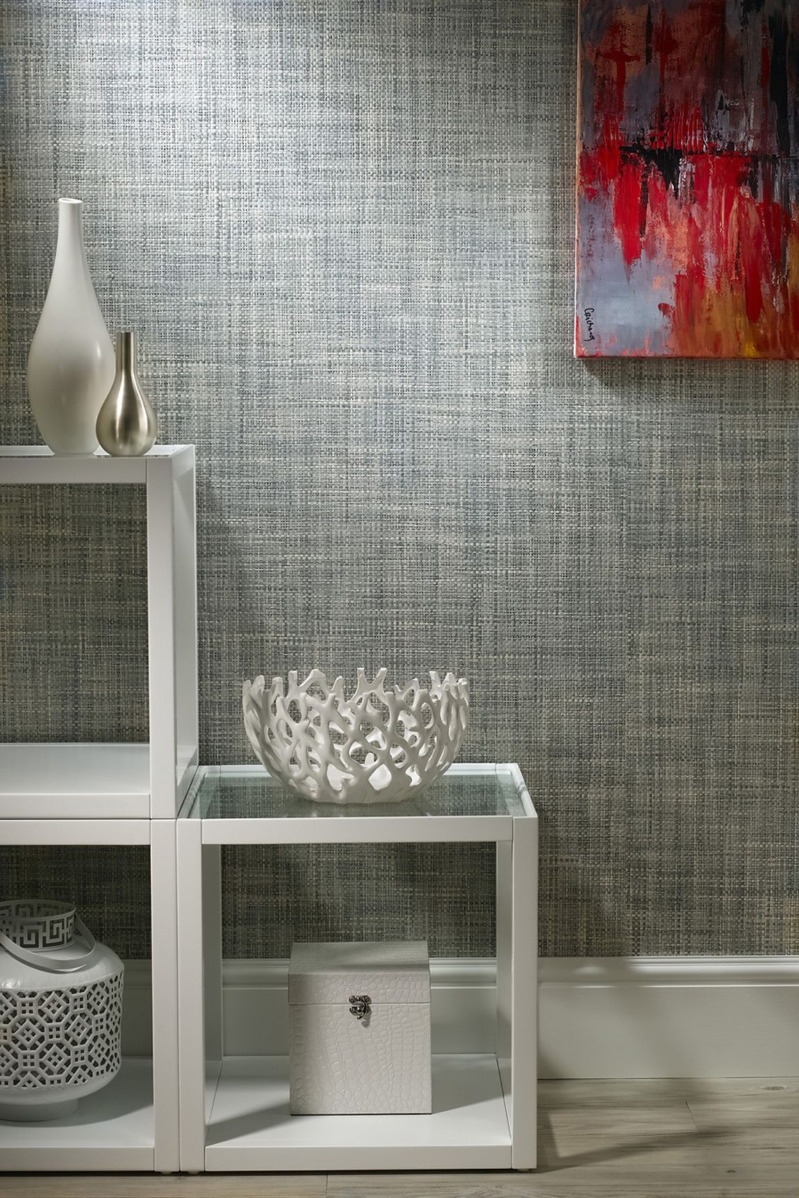 Heather Grey Driftwood Heather Grey a Paper Weave 6206