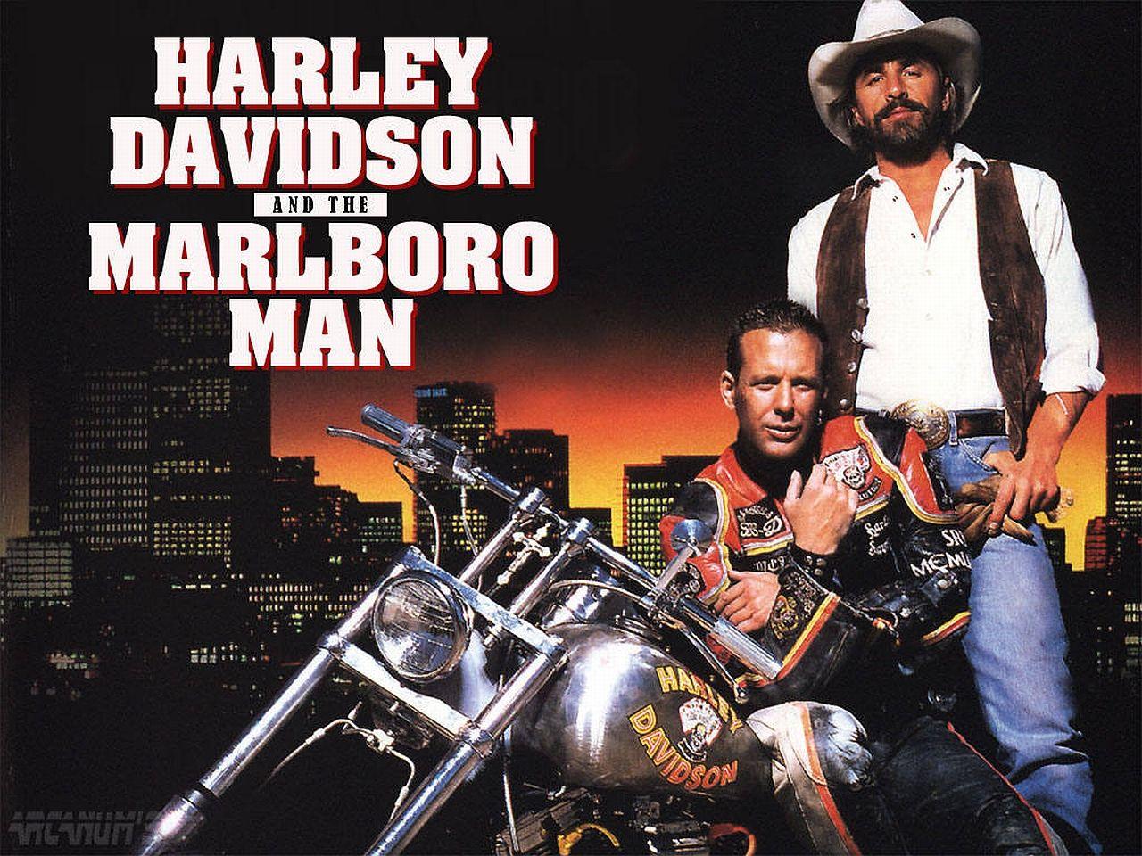 Movie - Harley Davidson and the Marlboro man Wallpaper