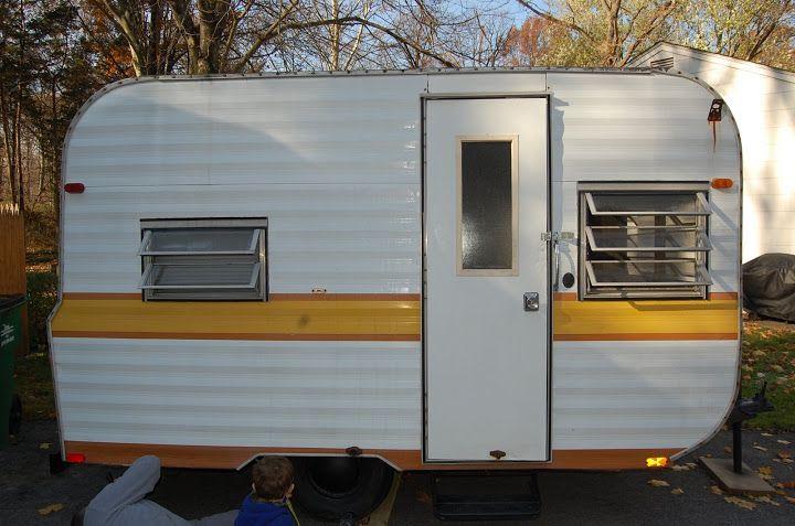 1973 Tag A Long Camper Vintage Camper Vintage Camping Camper