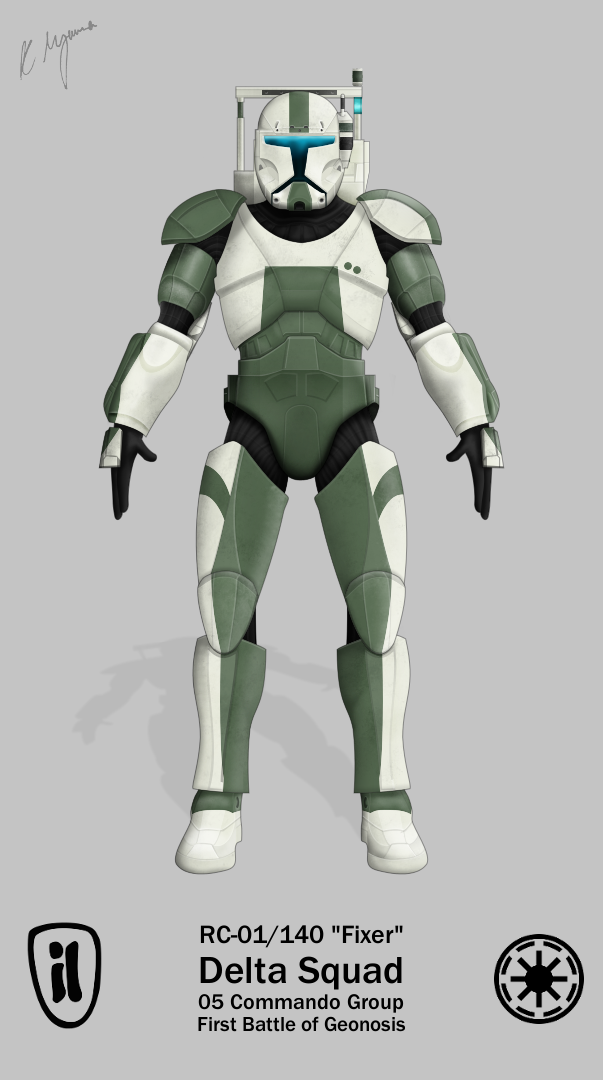Star Wars Republic Commando 2 : republic, commando, Fixer, Republic, Commando, Commando,, Trooper