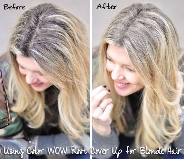 Color Wow Root Cover Up Before And After Grey Hair Cover Up