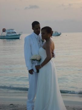 Negril, this was a fun wedding
