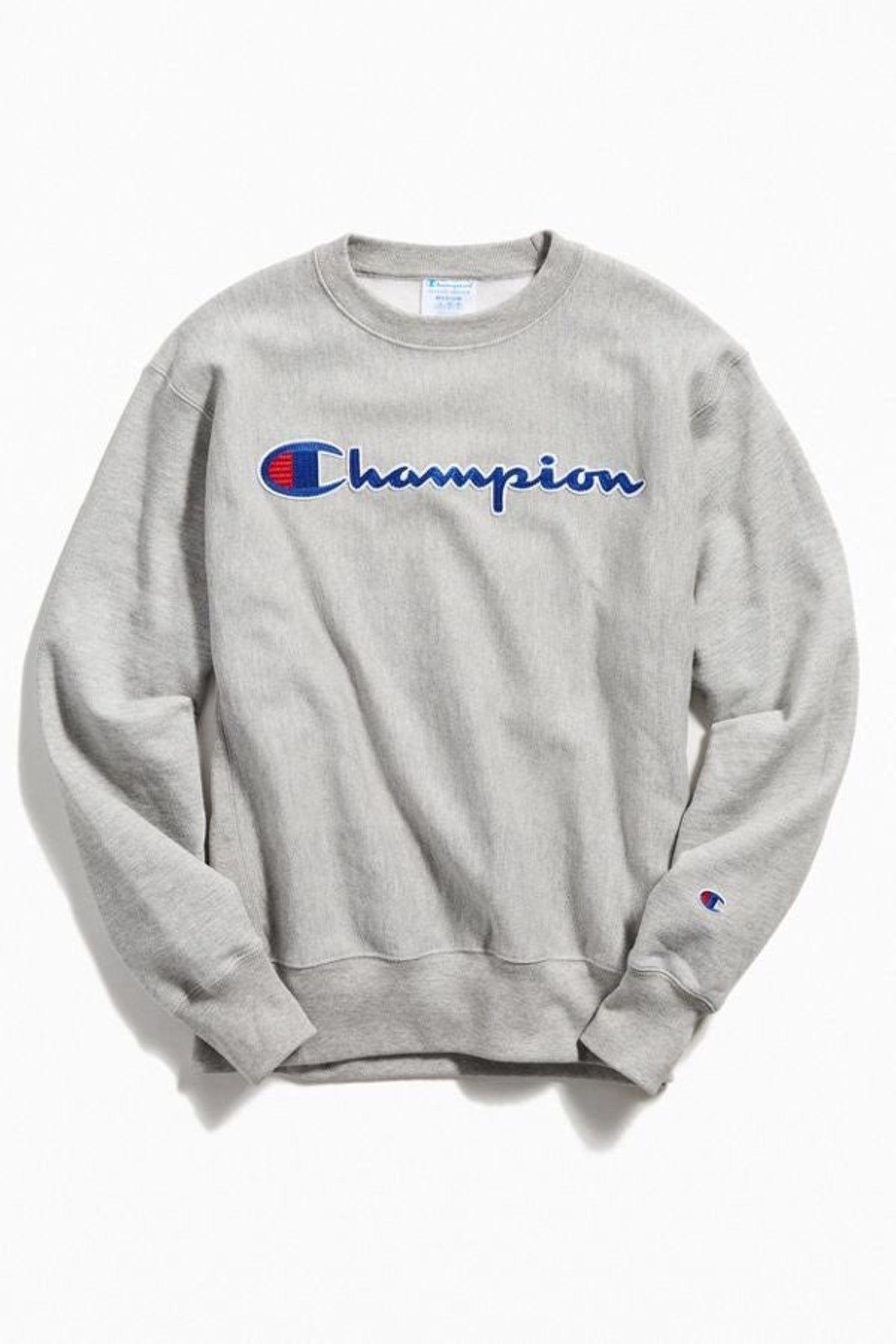 Champion Crew-Neck Sweatshirt #championhoodie