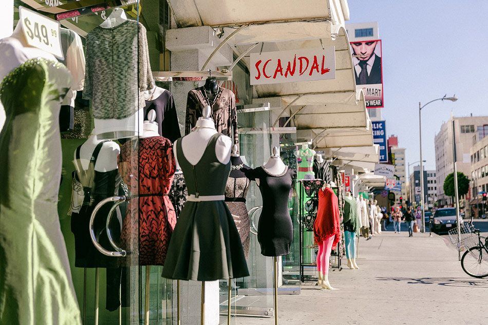 Although The Majority Of Business In The La Fashion District Is Dedicated To Wholesale Bu Fashion District Los Angeles Los Angeles Shopping La Fashion District