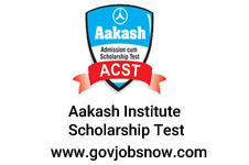 Check Out Latest AakashInstitute Scholarship Notification And