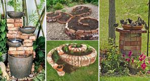 20 briliáns mód, hogyan díszítsük a kertet téglával