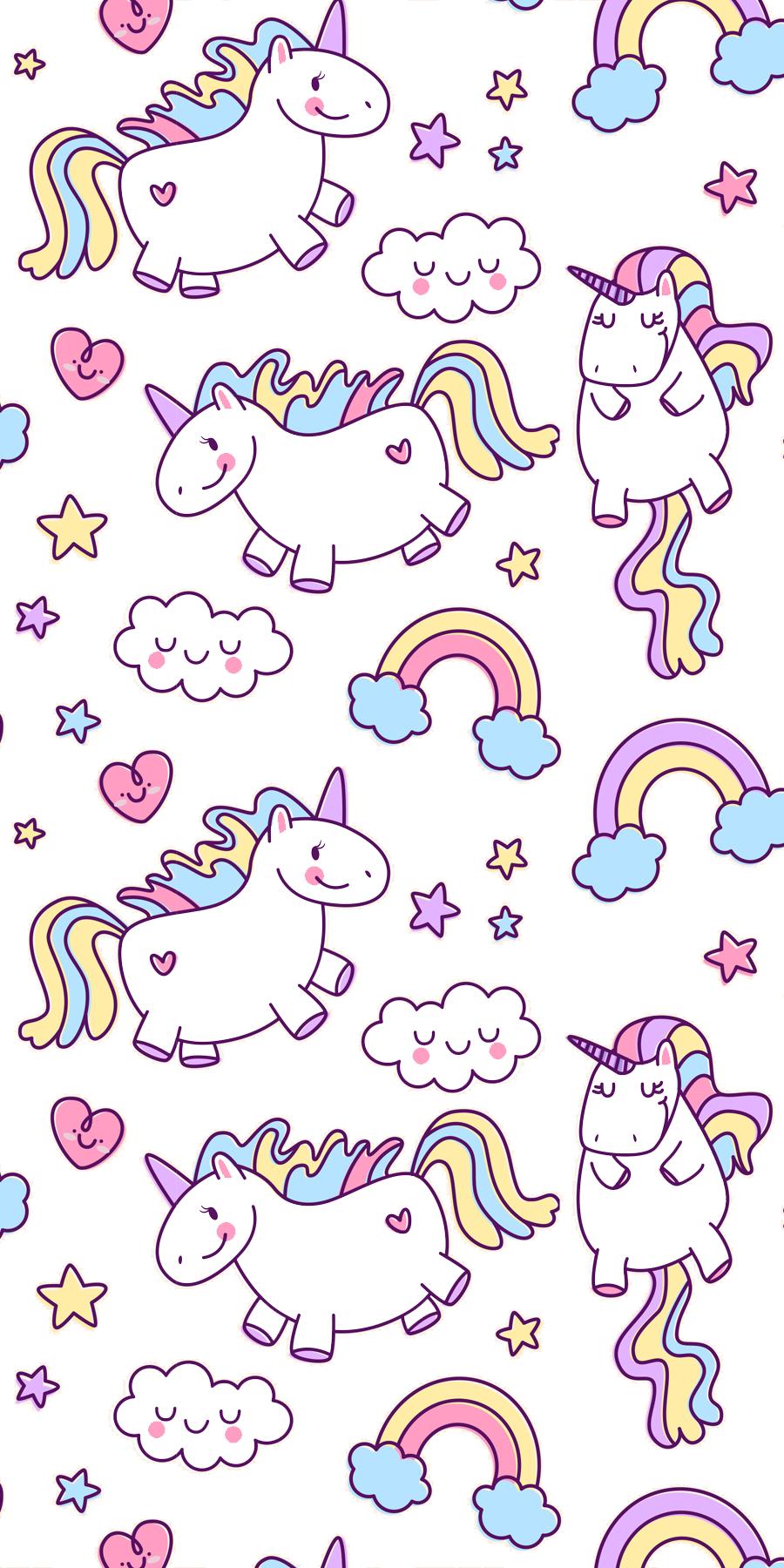 Collection Top 32 Background Unicorn Wallpaper Hd Download Di 2020 Seni Buku Ilustrasi Lucu Kuda Poni