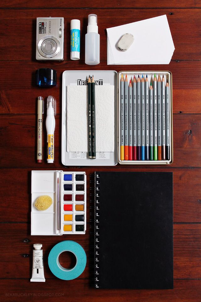 Travel Art Kit Essentials Travel Art Kit Travel Art Art Kit