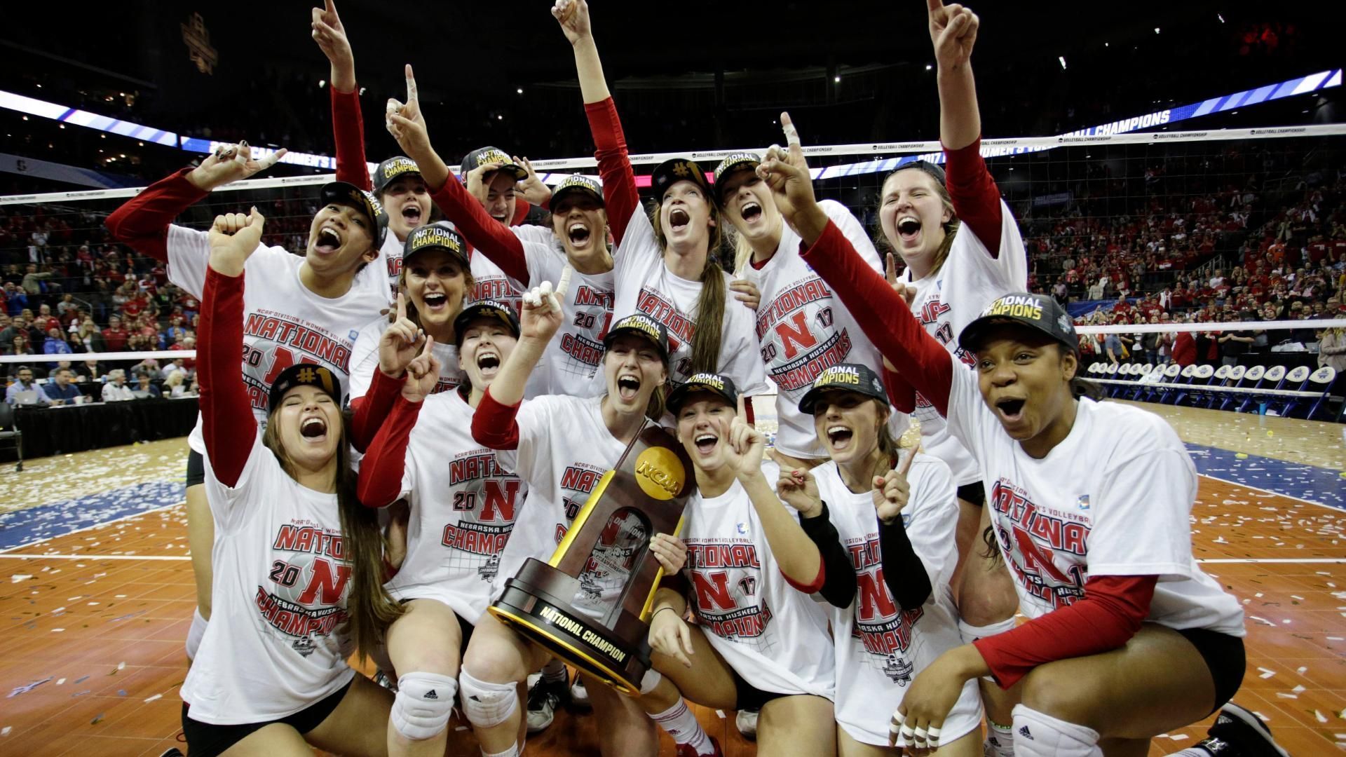 Nebraska Wins 5th Volleyball National Championship Espn Video Volleyball National Championship National Championship Nebraska