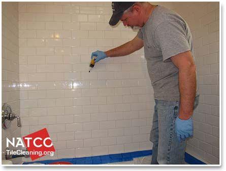 Sealing Shower Grout Mold In Bathroom Bathroom Mold Cleaner Cleaning Bathroom Mold