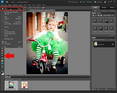 how to get rid of black and white on photoshop