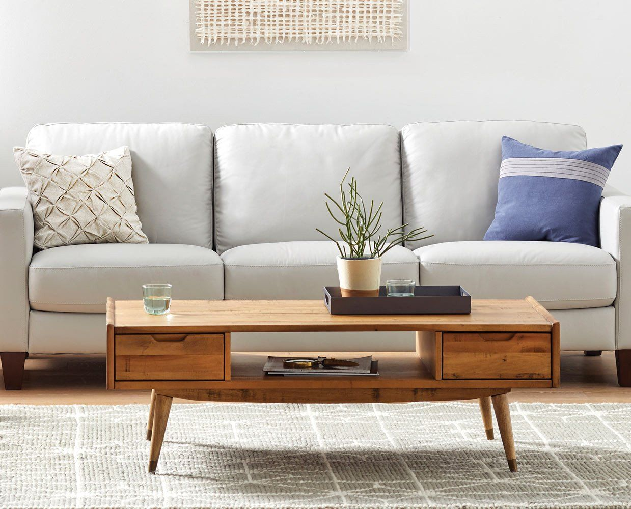 Pin By Dania Furniture On Oceano Bedroom Mid Century Modern Coffee Table Mid Century Coffee Table Coffee Table [ 1000 x 1239 Pixel ]