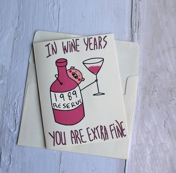 Funny 1989 Birthday Card