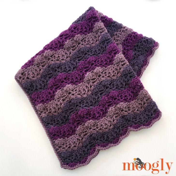 Little Princess Baby Blanket Free Crochet Pattern On Mooglyblog