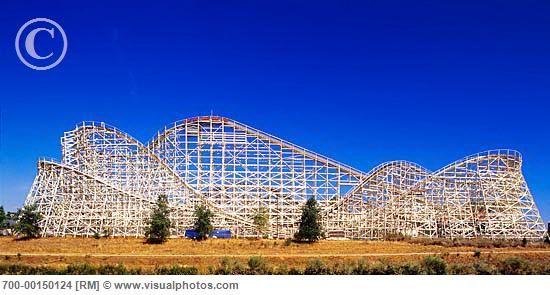 Roller Coaster Six Flags Elitch Gardens Denver Colorado Usa Amusement Park Rides Best Roller Coasters Roller Coaster
