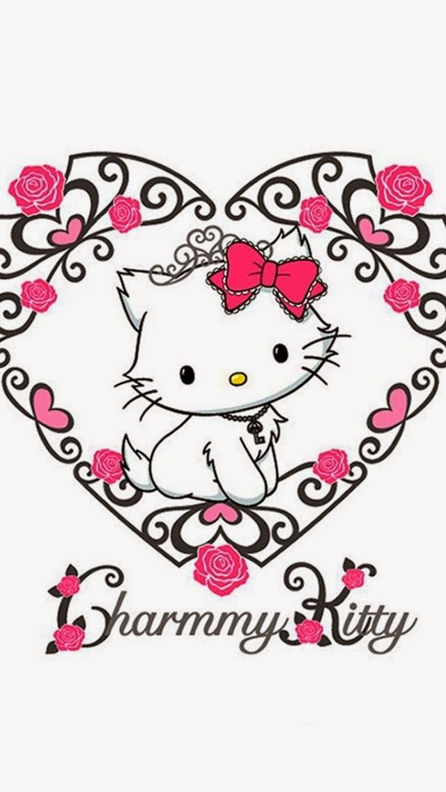 Dazzle my droid tjn iphone walls 2 pinterest hello kitty wallpaper and background photos of charmmy kitty for fans of sanrio images voltagebd Images