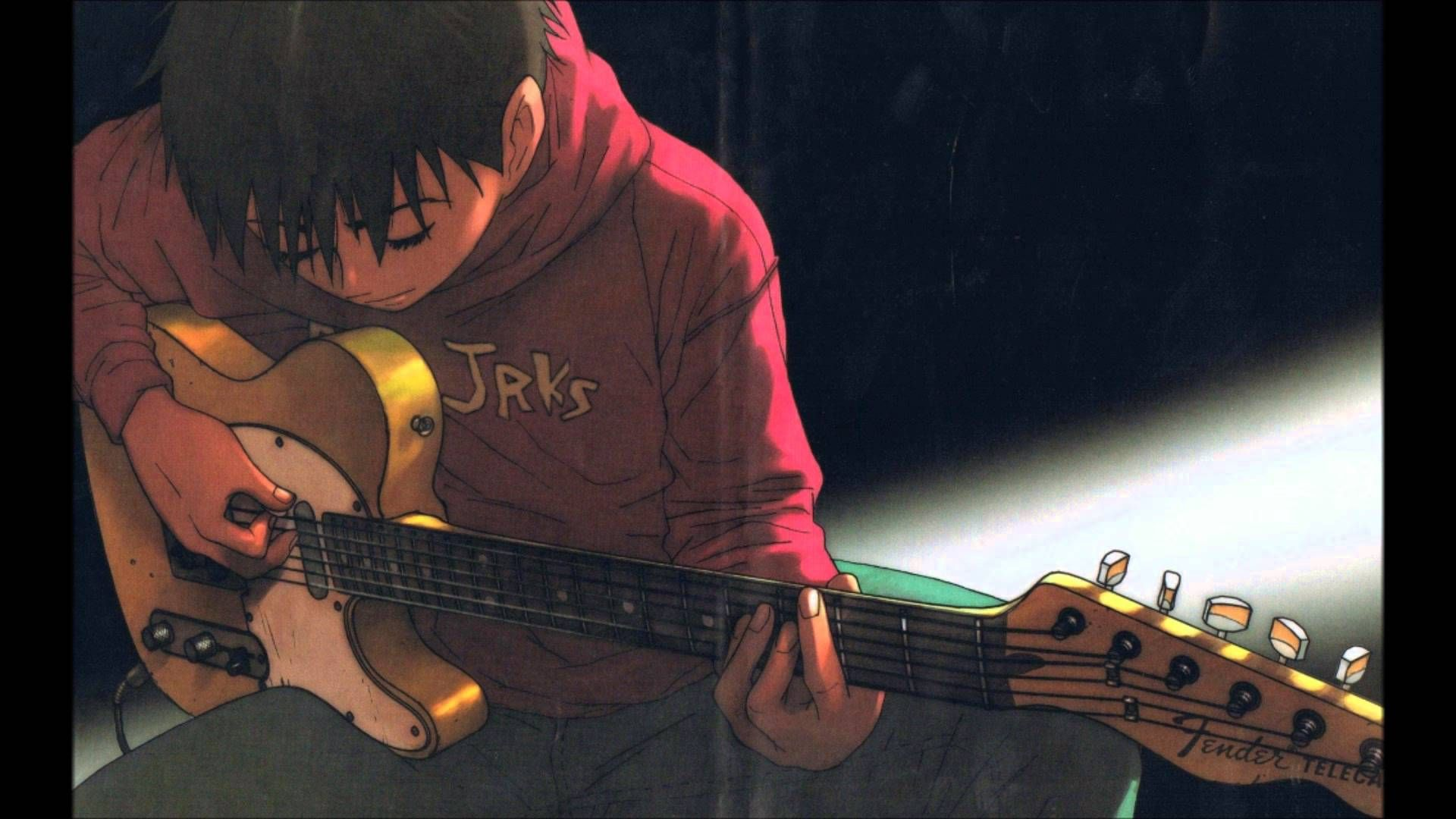 Pin By Max Batong On Ed S Thing Guitar Illustration Cats Art Drawing Anime