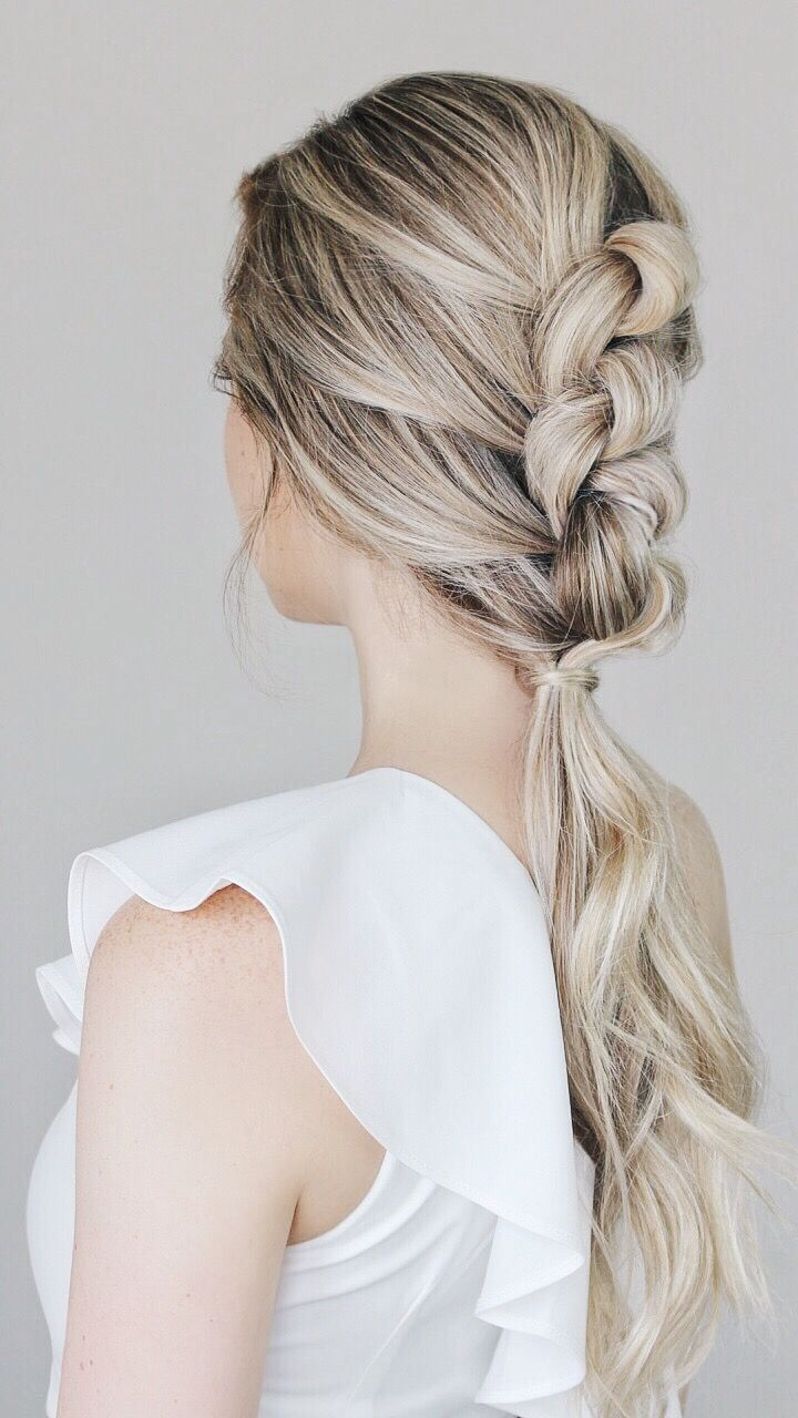Easy Knotted Updo Tutorial | Fun hairstyles, Updo tutorial and Updo