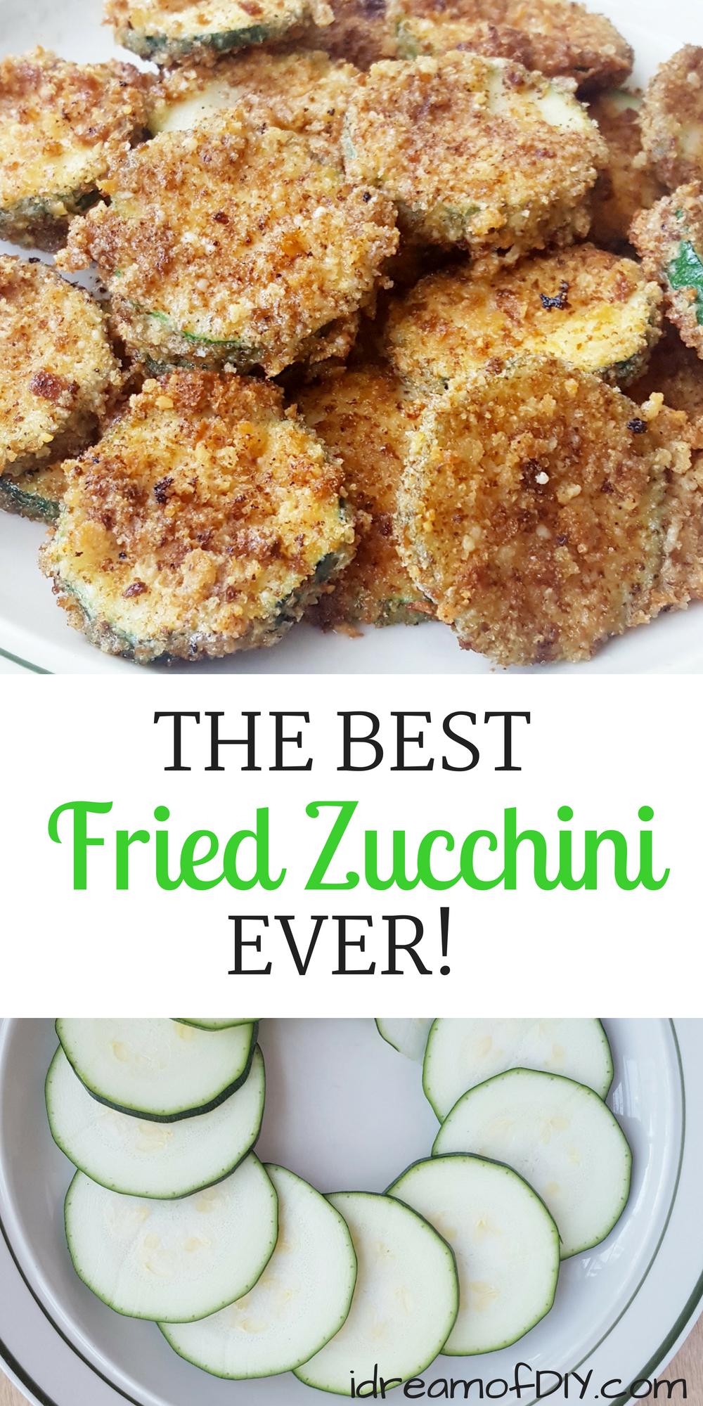 Photo of The Best Fried Zucchini Recipe Ever