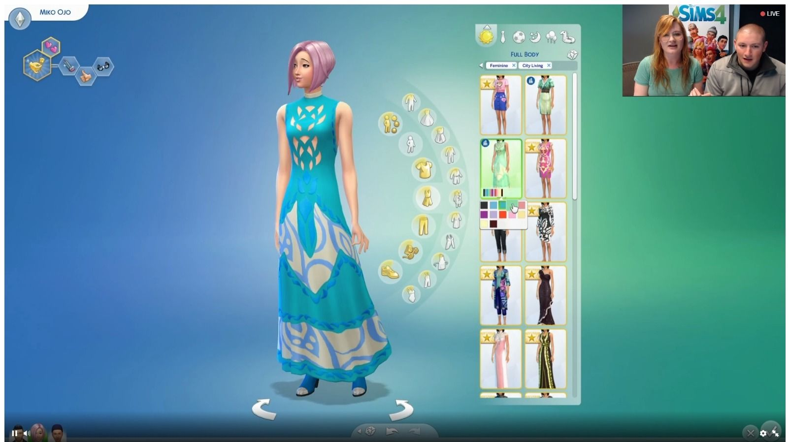 The Sims 4 City Living 105 Cas Screens From The Livestream Sims Community Avec Images Sims Sims 3