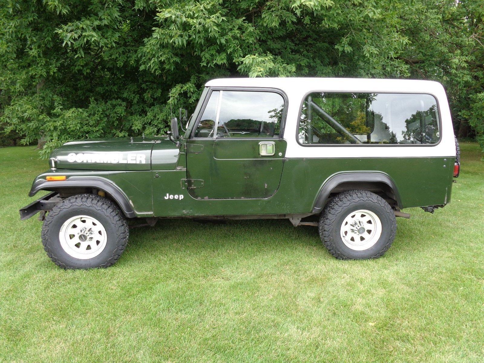eBay: 1982 Jeep CJ 1982 JEEP SCRAMBLER CJ-8 SURVIVOR