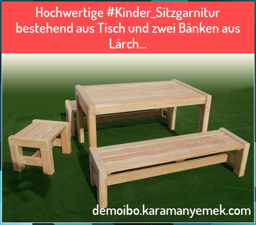 Hochwertige Kinder Sitzgarnitur Bestehend Aus Tisch Und Zwei B Nken Aus L Rch Hochwertige Kinder Sitzgarnitur Bestehend Aus In 2020 Step Stool Decor Home Decor