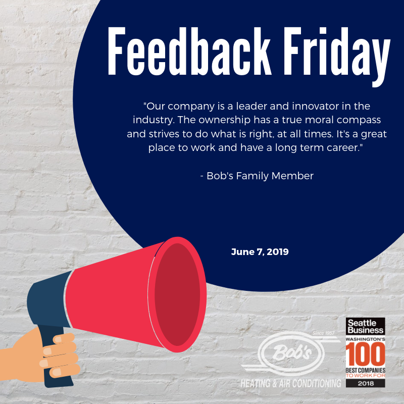Feedback Friday Bob S Heating Air Conditioning Heating And