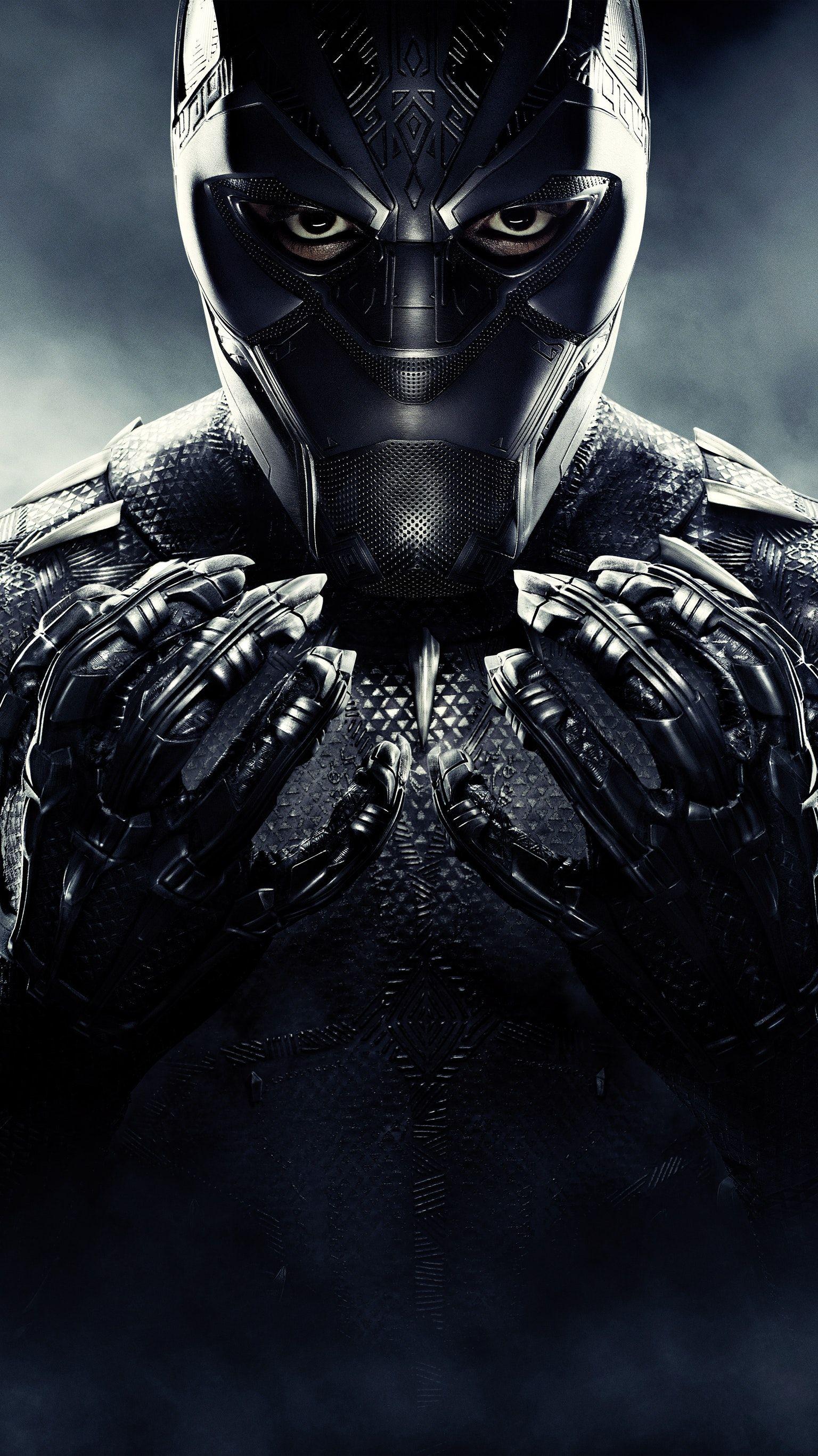Black Panther (2018) Phone Wallpaper Black panther