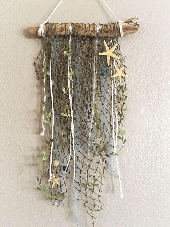 Wall decor beach wall hanging dream branch dream catcher