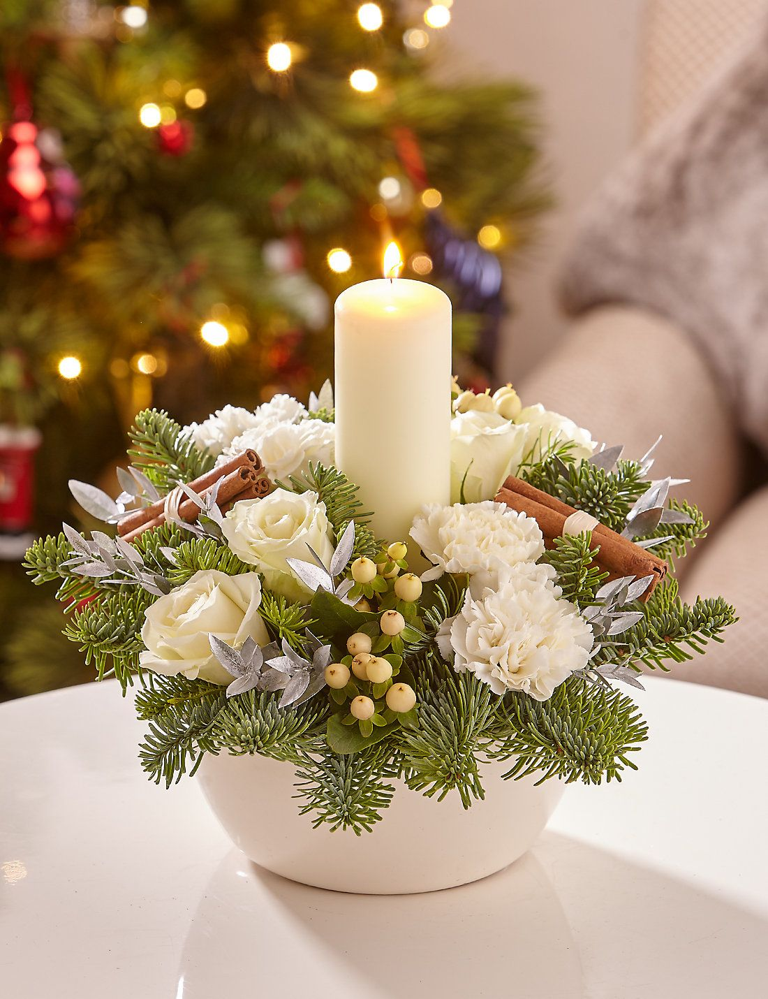 How to make christmas centerpieces with ice - Wallpaper
