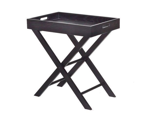 Merveilleux Oak Butlers Tray (black) $220